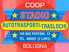 Autotrasporti e traslochi Coop Stadio – contatti e preventivi gratuiti per deposito, facchinaggio, traslochi e trasporti a Bologna Logo